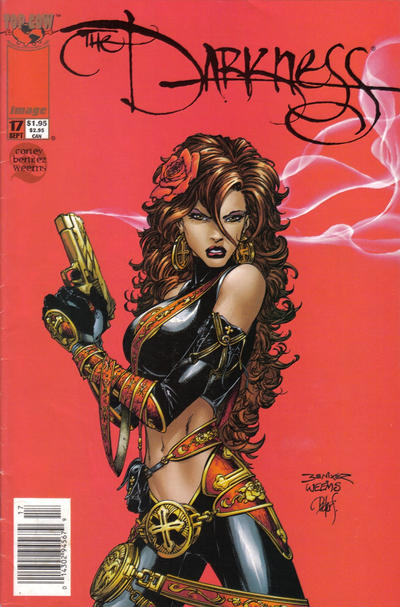 Cover for The Darkness (Image, 1996 series) #17 [Newsstand Edition]
