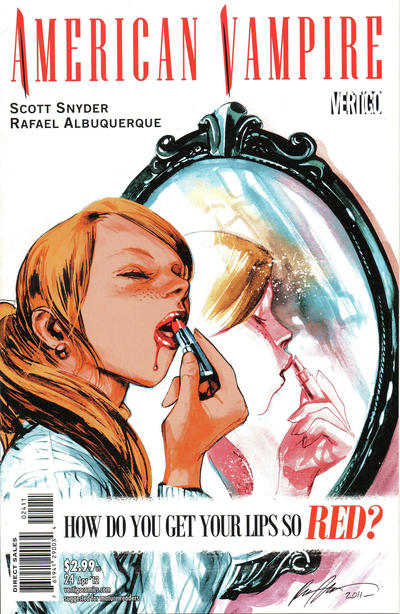 Cover for American Vampire (DC, 2010 series) #24