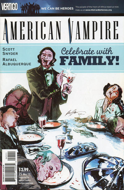 Cover for American Vampire (DC, 2010 series) #25