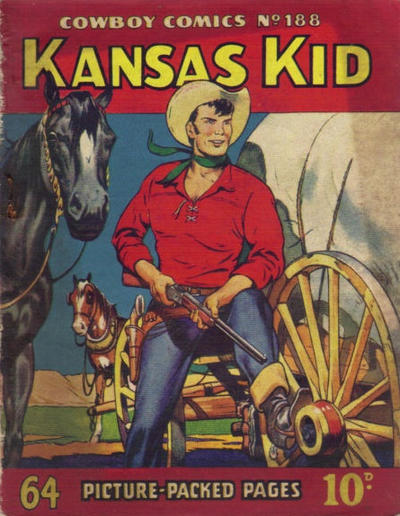 Cover for Cowboy Comics (Amalgamated Press, 1950 series) #188