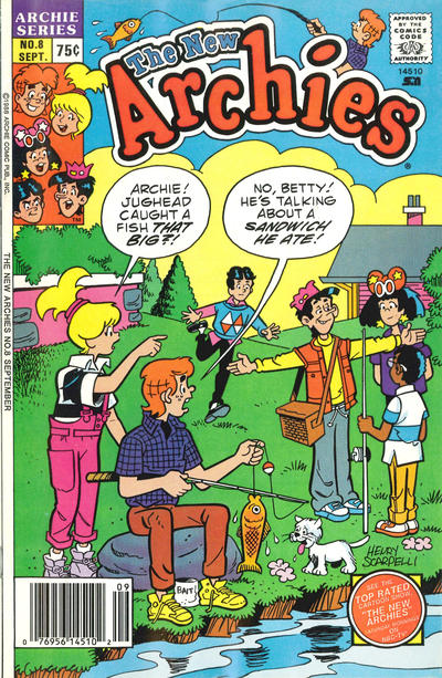 Cover for The New Archies (Archie, 1987 series) #8