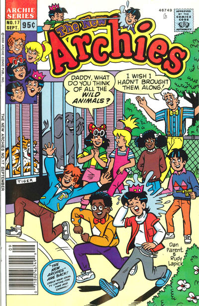 Cover for The New Archies (Archie, 1987 series) #17