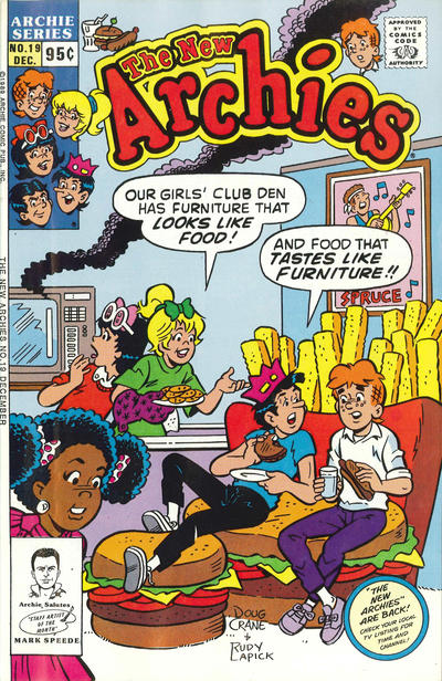 Cover for The New Archies (Archie, 1987 series) #19