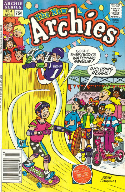 Cover for The New Archies (Archie, 1987 series) #4