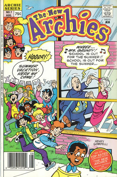Cover for The New Archies (Archie, 1987 series) #7