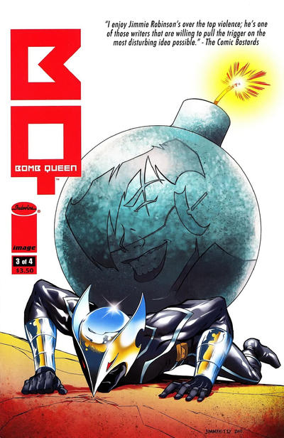 Cover for Bomb Queen (Image, 2011 series) #3