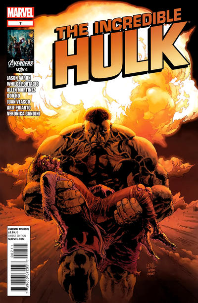 Cover for The Incredible Hulk (Marvel, 2011 series) #7