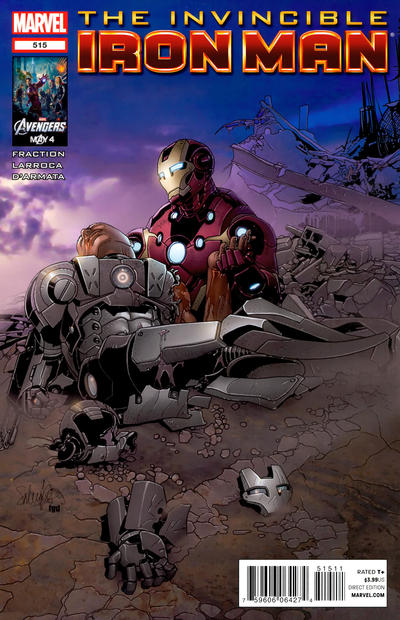 Cover for Invincible Iron Man (Marvel, 2008 series) #515 [Avengers Art Appreciation Variant Cover by Greg Horn]