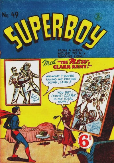 Cover for Superboy (K. G. Murray, 1949 series) #49