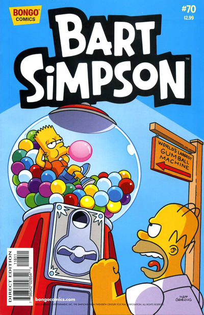Cover for Simpsons Comics Presents Bart Simpson (Bongo, 2000 series) #70