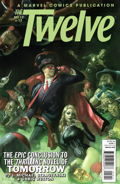Cover for The Twelve (Marvel, 2008 series) #12