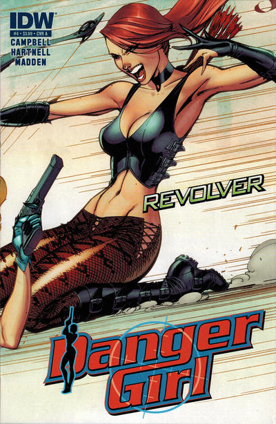 Cover for Danger Girl: Revolver (IDW, 2012 series) #4 [Cover A]