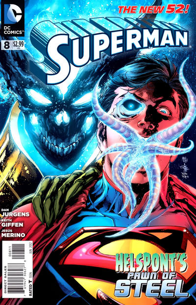 Cover for Superman (DC, 2011 series) #8