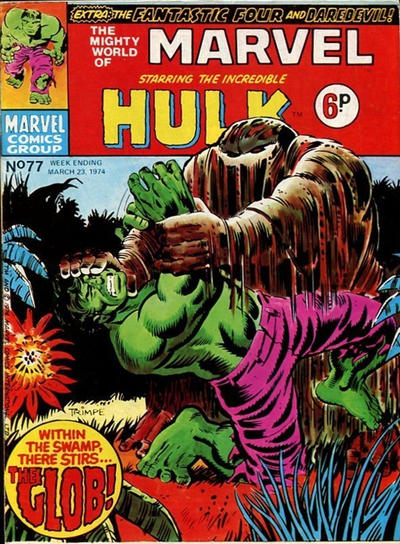 Cover for The Mighty World of Marvel (Marvel UK, 1972 series) #77