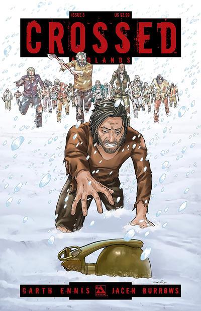 Cover for Crossed Badlands (Avatar Press, 2012 series) #3 [Regular Cover - Jacen Burrows]