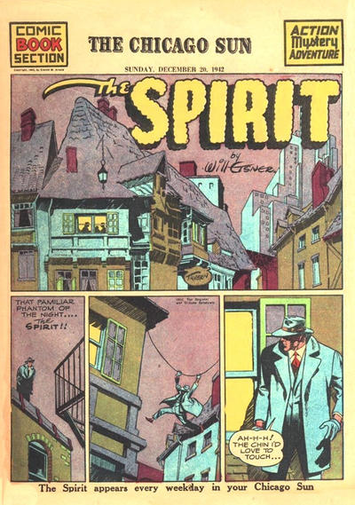 Cover for The Spirit (Register and Tribune Syndicate, 1940 series) #12/20/1942