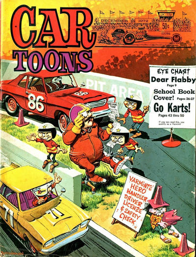 Cover for CARtoons (Petersen Publishing, 1961 series) #68