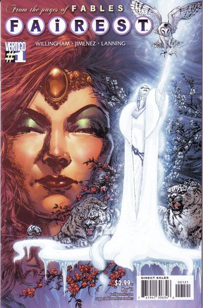 Cover for Fairest (DC, 2012 series) #1 [Jimenez cover]
