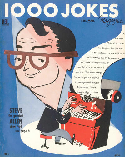 Cover for 1000 Jokes (Dell, 1939 series) #73