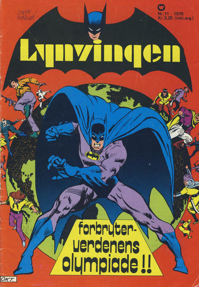 Cover for Lynvingen (Illustrerte Klassikere / Williams Forlag, 1969 series) #11/1976