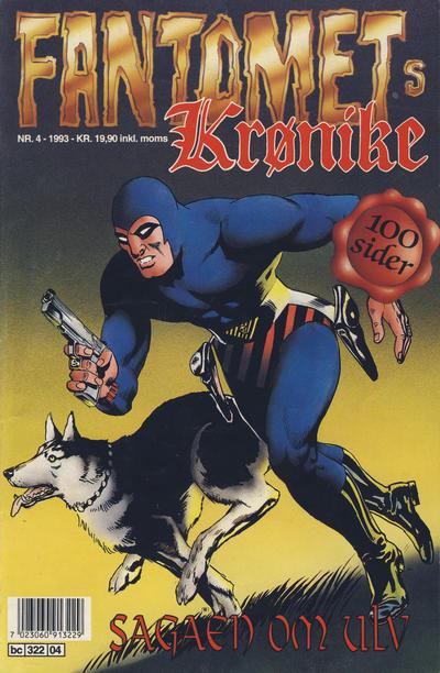 Cover for Fantomets krønike (Semic, 1989 series) #4/1993