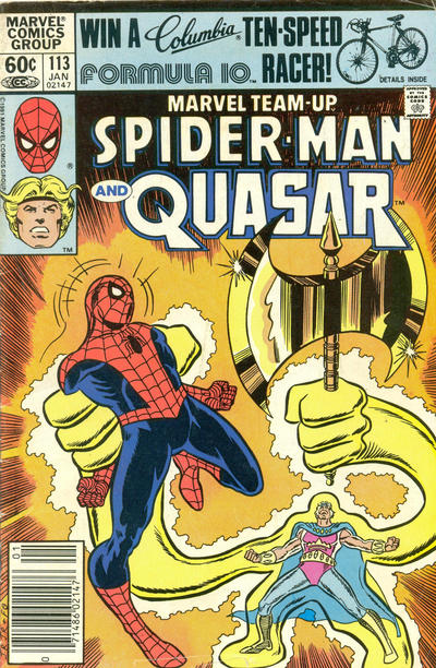 Cover for Marvel Team-Up (Marvel, 1972 series) #113 [Direct Edition]