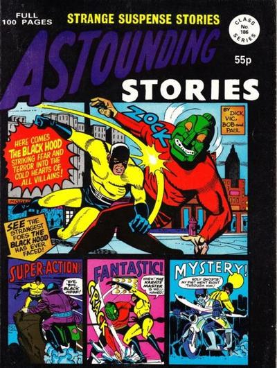 Cover for Astounding Stories (Alan Class, 1966 series) #186