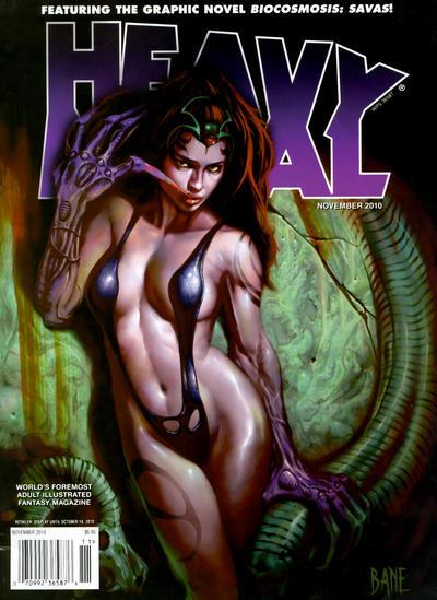 Cover for Heavy Metal Magazine (Heavy Metal, 1977 series) #v34#7