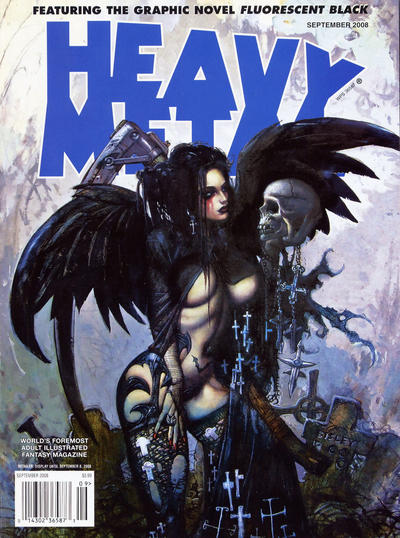 Cover for Heavy Metal Magazine (Heavy Metal, 1977 series) #v32#6