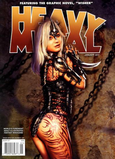 Cover for Heavy Metal Magazine (Heavy Metal, 1977 series) #v34#9