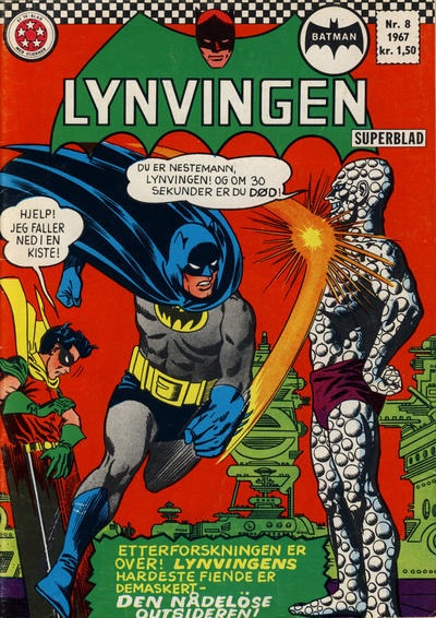 Cover for Lynvingen (Serieforlaget / Se-Bladene / Stabenfeldt, 1966 series) #8/1967