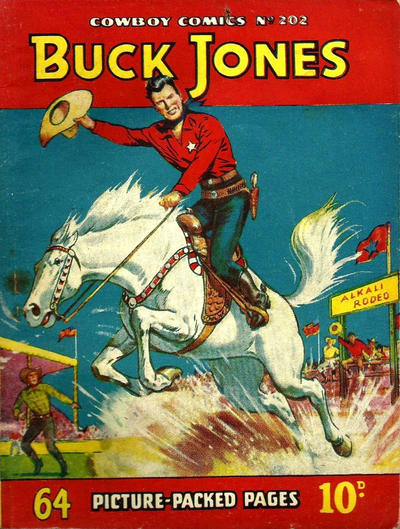 Cover for Cowboy Comics (Amalgamated Press, 1950 series) #202