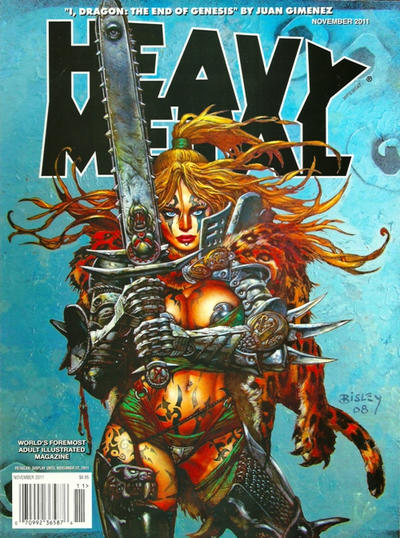 Cover for Heavy Metal Magazine (Heavy Metal, 1977 series) #v35#7