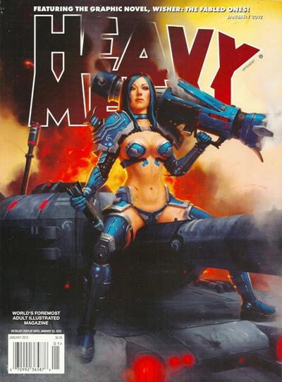 Cover for Heavy Metal Magazine (Heavy Metal, 1977 series) #v35#8
