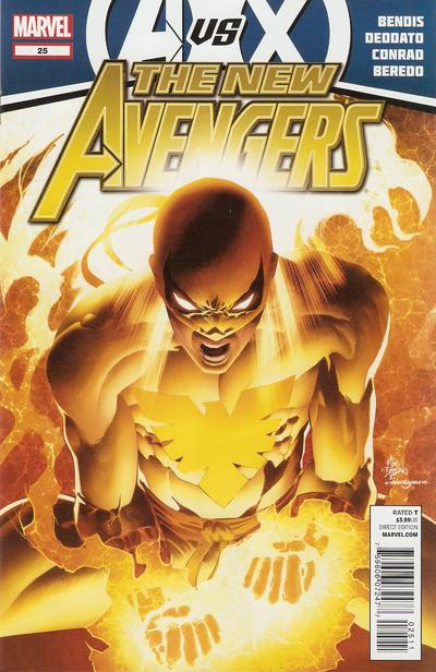 Cover for New Avengers (Marvel, 2010 series) #25