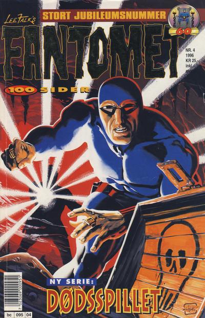 Cover for Fantomet (Semic, 1976 series) #4/1996