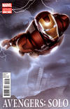 Cover for Avengers: Solo (Marvel, 2011 series) #4 [Movie Variant Cover featuring Iron Man]