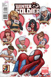 Cover for Winter Soldier (Marvel, 2012 series) #2 [Amazing Spider-Man 50th Anniversary Variant]
