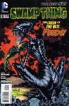 Cover for Swamp Thing (DC, 2011 series) #9