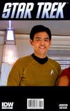 Cover Thumbnail for Star Trek (2011 series) #1 [Cover RI  A-1 - Photo Variant featuring Sulu]