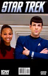 Cover Thumbnail for Star Trek (2011 series) #1 [Cover RI  A-2 - Photo Variant featuring Uhura & Spock]