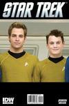 Cover Thumbnail for Star Trek (2011 series) #1 [Cover RI  A-3 - Photo Variant featuring Kirk & Chekov]
