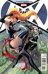 Cover for Avengers vs. X-Men (Marvel, 2012 series) #3 [Variant Cover by J. Scott Campbell]