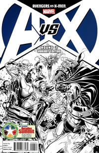 Cover Thumbnail for Avengers vs. X-Men (Marvel, 2012 series) #2 [Diamond Retailer Summit Variant Cover by Jim Cheung]