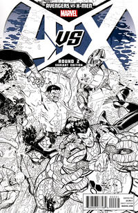 Cover for Avengers vs. X-Men (Marvel, 2012 series) #2