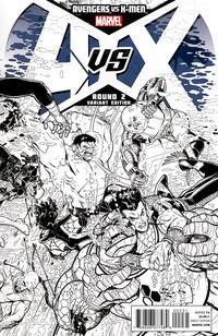 Cover Thumbnail for Avengers vs. X-Men (Marvel, 2012 series) #2 [Sketch Variant Cover by Nick Bradshaw]