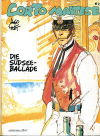 Cover Thumbnail for Corto Maltese (Carlsen Comics [DE], 1988 series) #2 - Die Südseeballade