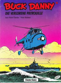 Cover Thumbnail for Buck Danny (Carlsen Comics [DE], 1989 series) #8 - Die verlorene Patrouille