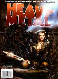 Cover for Heavy Metal Magazine (Metal Mammoth, Inc., 1992 series) #v34#3
