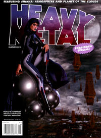 Cover Thumbnail for Heavy Metal Special Editions (Metal Mammoth, Inc., 1992 series) #v24#2 - Forbidden Special